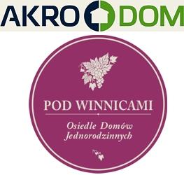 logo AKRO-DOM - DEWELOPER - firma deweloperska, budowa domów, budowa mieszkań, sprzedaż mieszkań