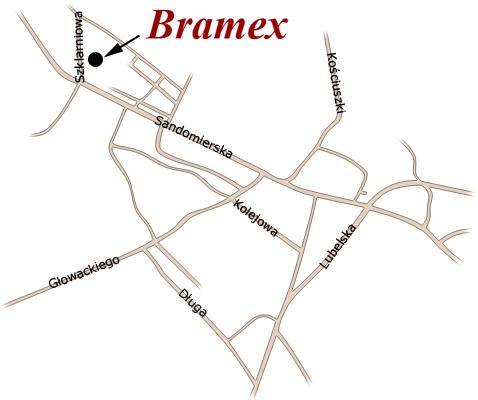BRAMEX - ogrodzenia, balustrady, drzwi, balustrady chromowo-niklowe, balustrady nierdzewne, ławka ze stali nierdzewnej, bramy garażowe