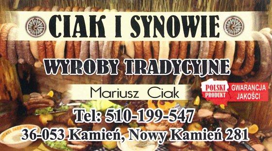CIAK Zakład Mięsny Wyroby Tradycyjne