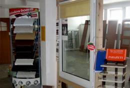 FENSTER - okna i drzwi PCV, aluminium, drewno; bramy garażowe; tynki; parapety