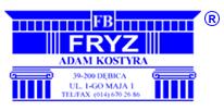 logo Firma Budowlana FRYZ
