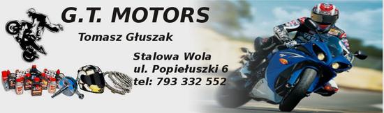 G.T. MOTORS - motocykle, skutery, quady, sklep, serwis, komis motocyklowy, części, akcesoria