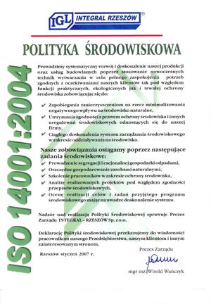 Przedsiębiorstwo Produkcyjno-Handlowe INTEGRAL Sp. z o.o.