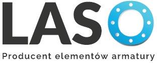 """logo Przedsiębiorstwo Produkcyjno-Usługowe """"LASO"""" - kołnierze płaskie, kołnierze szyjkowe, kołnierze gwintowane, kołnierze zaślepiające, śruby dwustronne,"""