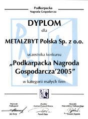 """Metalzbyt Polska Sp. z o.o."""