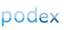 logo PODEX - podłogi podniesione, artykuły metalowe - hurt-detal