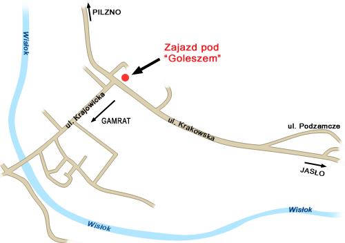 ZAJAZD POD GOLESZEM - Hotelik, gastronomia, nocleg Jasło, Wesela, Catering Jasło