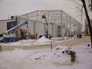 STALBUD - konstrukcje stalowe, prace antykorozyjne, hale stalowe, budownictwo przemysłowe, budowy hal, rurociągi przemysłowe