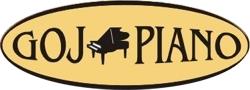 logo GOJ PIANO - Pracownia fortepianów i pianin<br />strojenie, naprawa, renowacja pianin i fortepianów<br />Rzeczoznawca Ministerstwa Kultury i Sztuki