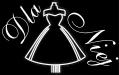 """logo Salon mody ślubnej """"DLA NIEJ"""" - suknie ślubne, suknie wizytowe, dodatki ślubne, biżuteria ślubna, szycie sukien na miarę, wypożyczalnia sukien ślubnych"""