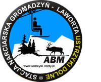 """logo Stacje Narciarskie """"Laworta"""", """"Gromadzyń"""""""