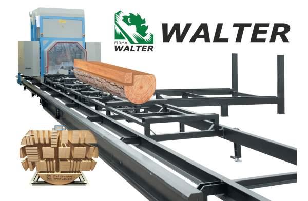 WALTER - maszyny do obróbki drewna, piły tarczowe, rury spiro,